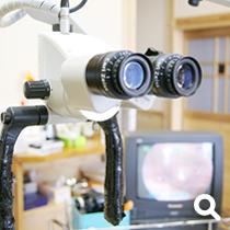 顕微鏡とモニター
